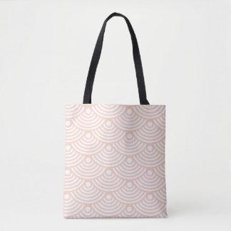 Rosa moderne Wellen-Taschen-Tasche Tasche