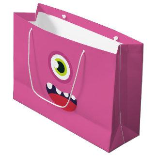 Rosa Monster Große Geschenktüte