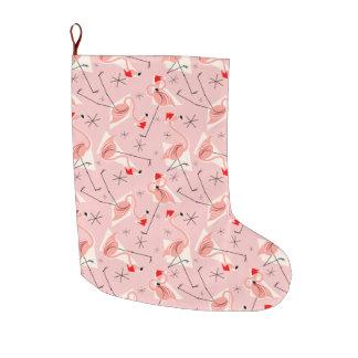 Rosa multi Strumpf Flamingo-Sankt Großer Weihnachtsstrumpf