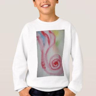 rosa Muschel Watercolor Sweatshirt