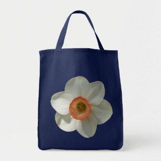Rosa Narzissen-schöne Frühlings-Blume Tragetasche