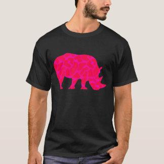 Rosa Nashorn T-Shirt