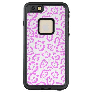 Rosa NeonGepard-Tierdruck LifeProof FRÄ' iPhone 6/6s Plus Hülle