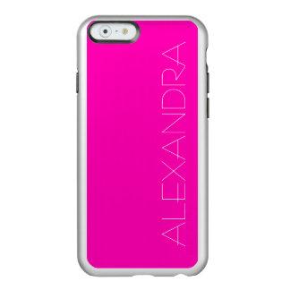 Rosa Neonnormallack fertigen es besonders an Incipio Feather® Shine iPhone 6 Hülle