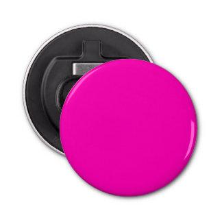 Rosa Neonnormallack fertigen es besonders an Runder Flaschenöffner