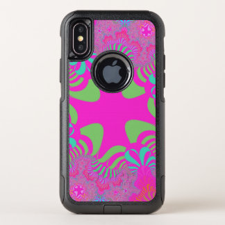 Rosa NeonqueriPhone X Fall OtterBox Commuter iPhone X Hülle