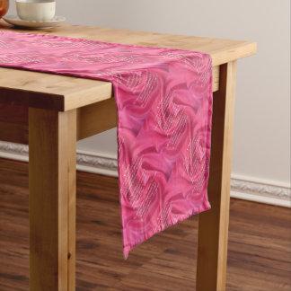 Rosa - Nichten-Gedicht Kurzer Tischläufer