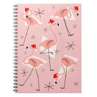 Rosa Notizbuch Flamingo-Sankt Notizblock