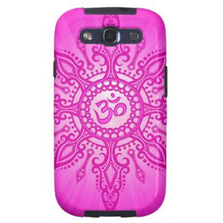 Rosa Om-Stern Samsung Galaxy S3 Schutzhülle