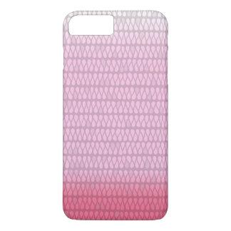 Rosa Ombre gefärbte Krawatte kaum dort iPhone 6 iPhone 7 Plus Hülle
