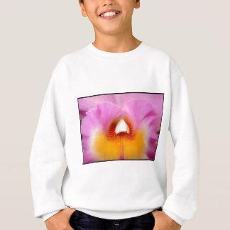 Rosa Orchidee scherzt Sweatshirt