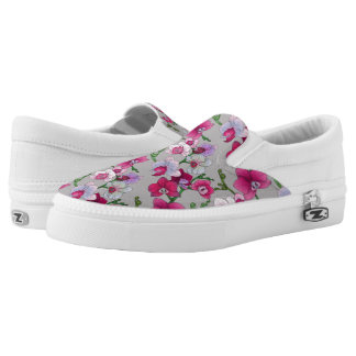 Rosa Orchideen in der Blüte Slip-On Sneaker
