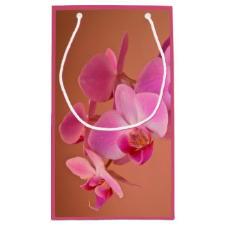 Rosa Orchideen Kleine Geschenktüte
