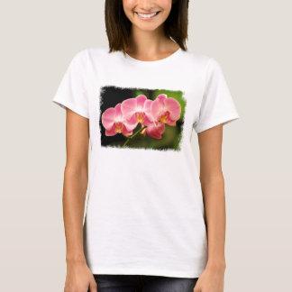Rosa Orchideen-T - Shirt