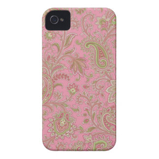 Rosa Paisley iPhone Fall Case-Mate iPhone 4 Hülle