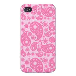 Rosa Paisley iPhone 4/4S Cover