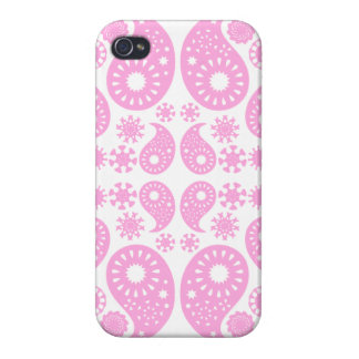 Rosa Paisley iPhone 4 Case