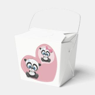 Rosa Pandateddy-Bärn-Hochzeits-Party-Verlobung Geschenkschachtel