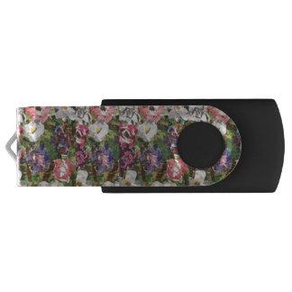 Rosa PapierBlumen USB Flashdrive USB Stick