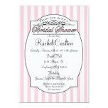 Rosa Paris-Brautparty-Einladung