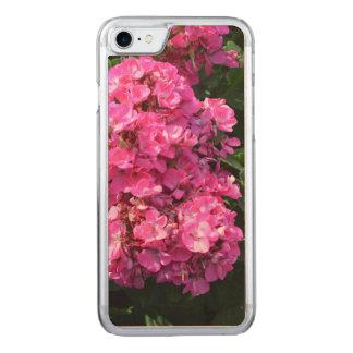 Rosa Pelargonien Carved iPhone 8/7 Hülle