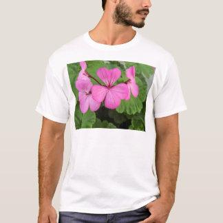 Rosa Pelargonien T-Shirt