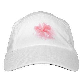 Rosa Pfingstrosen-Blumen-Kappe Headsweats Kappe