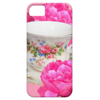 ROSA PFINGSTROSEN-TEE-ZEIT-KUNST iPhone 5 COVER