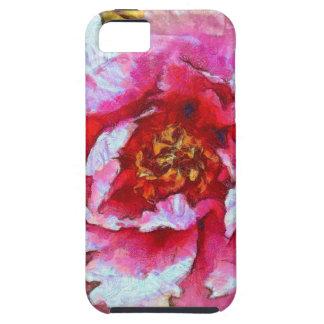 Rosa Pfingstrosen-Van- Goghart iPhone 5 Etui