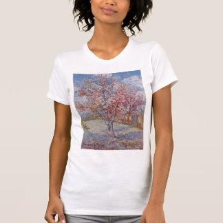 Rosa Pfirsich-Baum in der Blüte (Erinnerung der T-Shirt