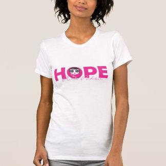 Rosa Poken Hoffnung T Shirts