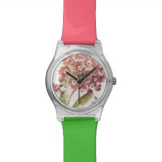 Rosa Primel Uhr