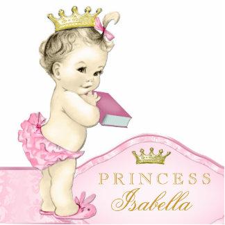 Rosa Prinzessin Babyparty Photoausschnitt