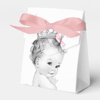 Rosa Prinzessin Babyparty Geschenkschachtel
