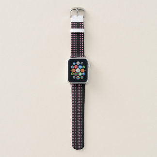 Rosa Punkte Apple Watch Armband