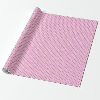 Rosa Punkte Geschenkpapier