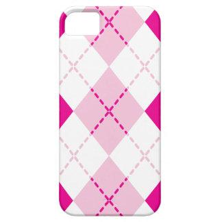 Rosa Raute iPhone 5 Hülle