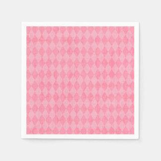 Rosa Raute Papierserviette