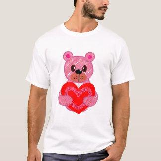 rosa reizender Bär T-Shirt