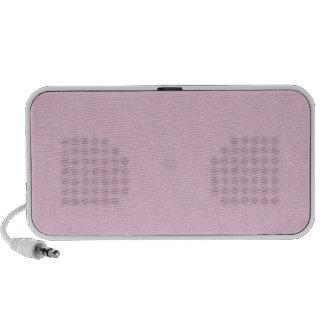 Rosa Retro Pappbuntes Beschaffenheits-Muster Speaker