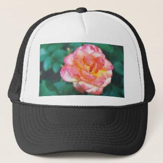 rosa Rose #40 Truckerkappe