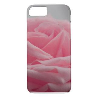 Rosa Rose für Mädchen iPhone 8/7 Hülle