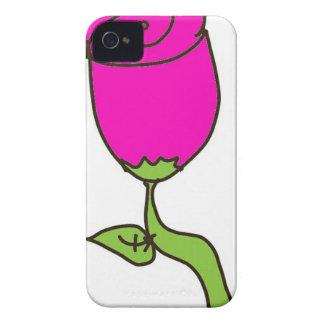 rosa Rose in einem Zeichnen Case-Mate iPhone 4 Hülle