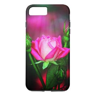 Rosa Rose iPhone 8 Plus/7 Plus Hülle
