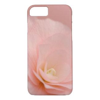 Rosa Rose mit Blumen iPhone 7 Hülle