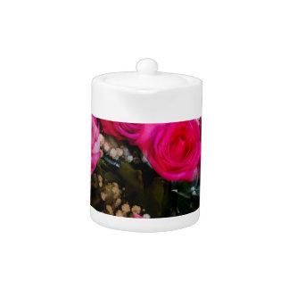 Rosa Rosen-Blumenstrauß-Explosion