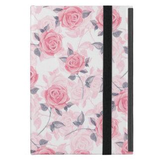 Rosa Rosen Etui Fürs iPad Mini