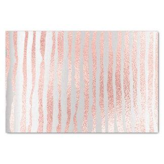 Rosa Rosen-Gold erröten metallische Seidenpapier
