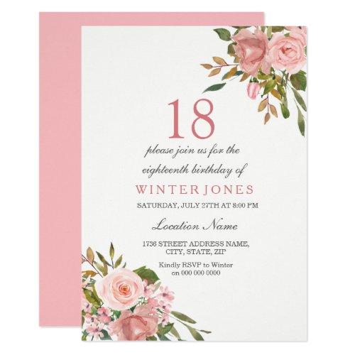 18 rosen zum geburtstag