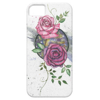 Rosa Rosen im Raum, iPhone Fall iPhone 5 Cover